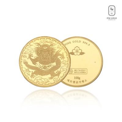 [에프엠금거래소] 24K 999.9 포나인 용 코인 37.5g