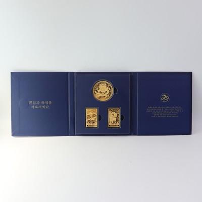[특별 패키지] 37.5g 흉배 골드바 고급 케이스